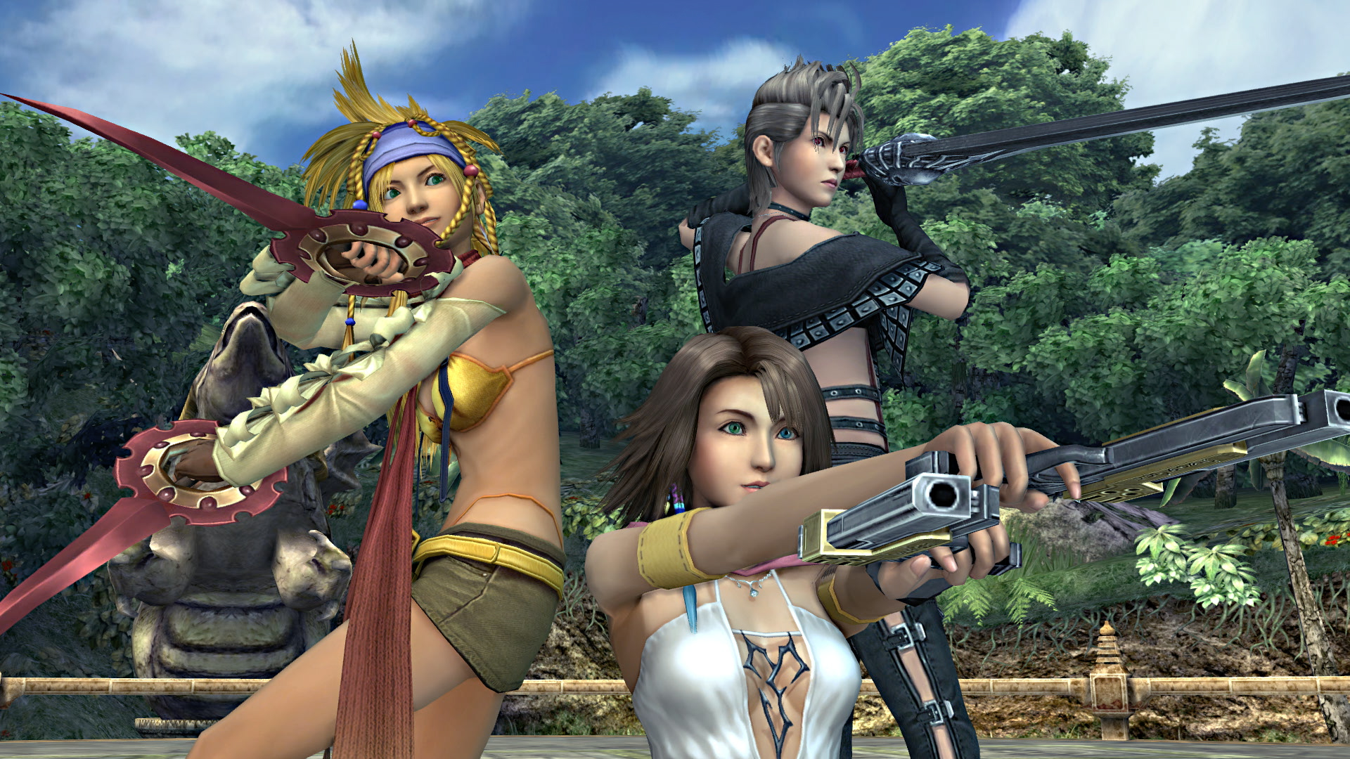 X X 2 Final Fantasy X X 2 Hd Launches Today For Playstation 4 Nova
