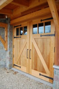 Custom Wood Door | Nova Garage Doors