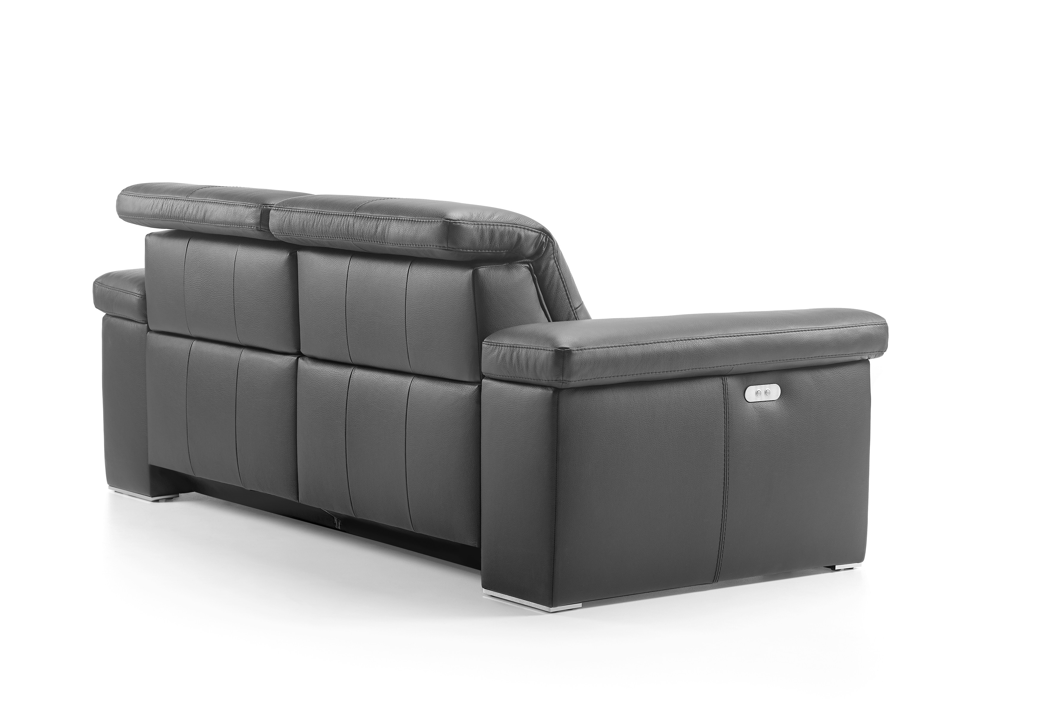 Chaise Aladin Levana Leather Sofa By Rom Belgium At Nova Interiors Contemporary