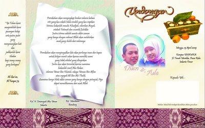 Undangan Pernikahan Undangan Pernikahan Murah Undangan Pernikahan
