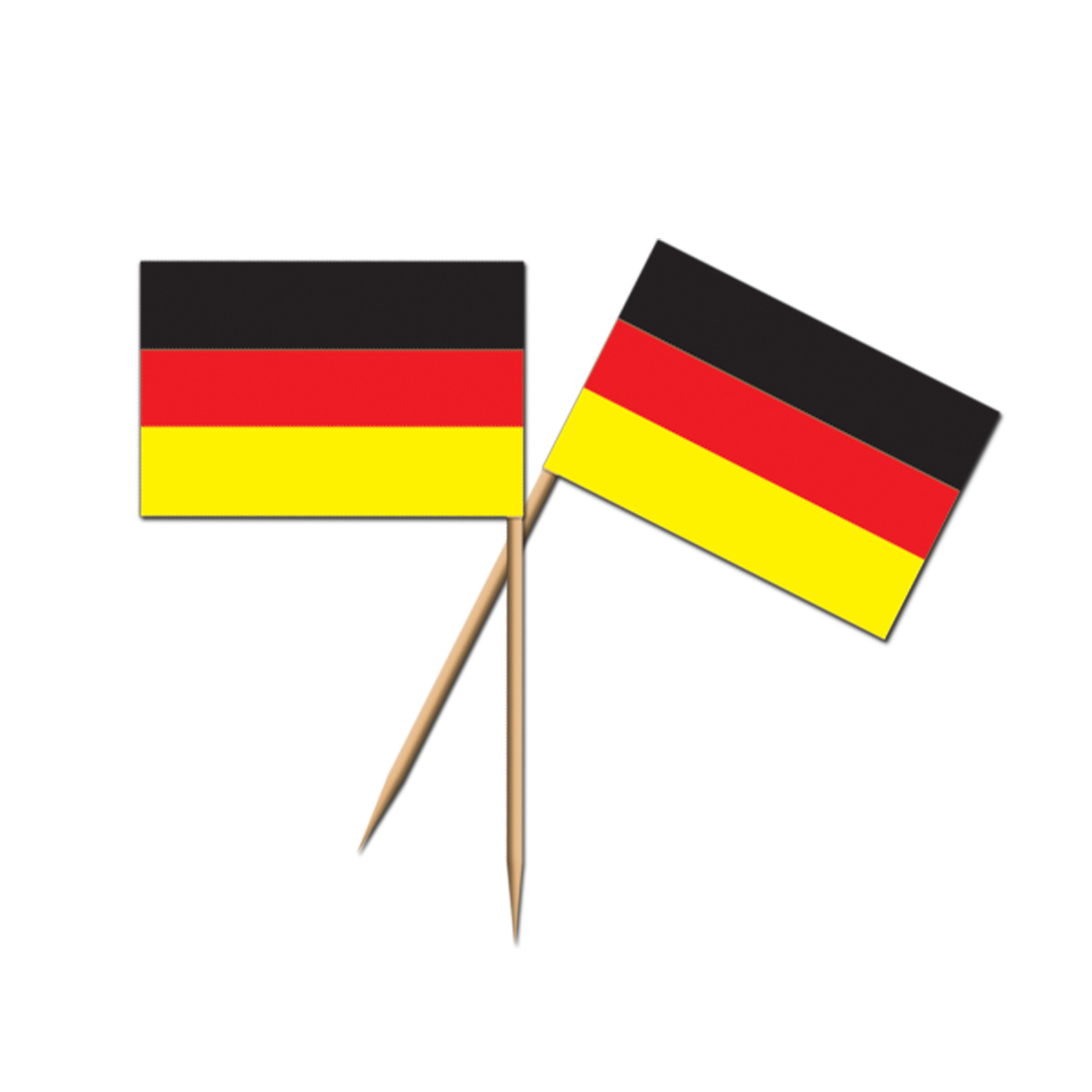 Novelty Toothpicks German Flag Picks 2½ Quot Party Supplies From Novelties