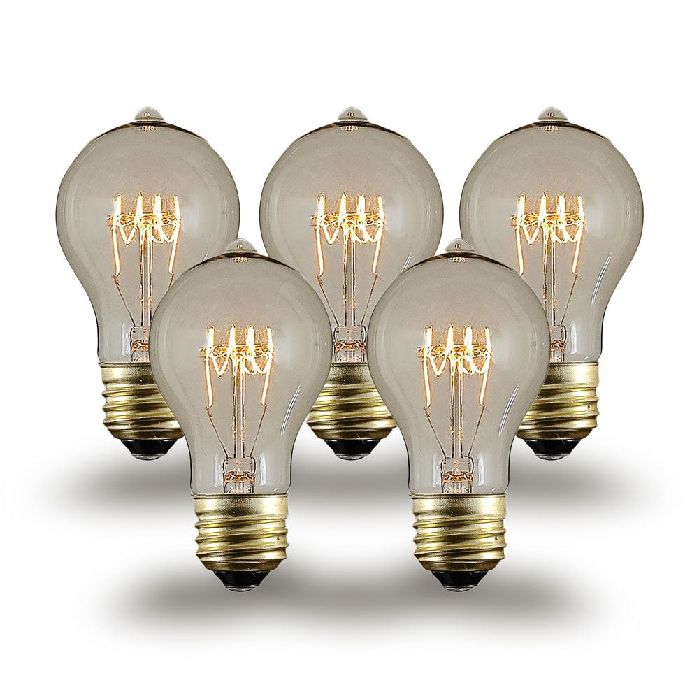 60w Light Bulb A19 Vintage Edison Bulb E26 60 Watt 1 Pack On Sale