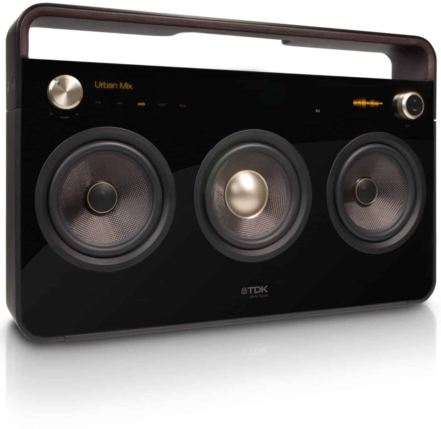 Cool Music Speakers Tdk Life On Record 3 Speaker Boombox Audio System