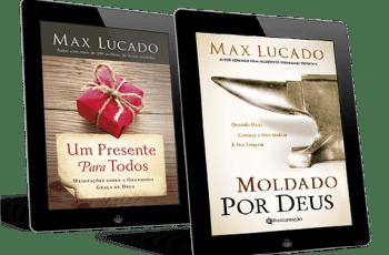 Kit de livros Max Lucado: Moldado por Deus + Um Presente para Todos + Coleção Editora Proclamação