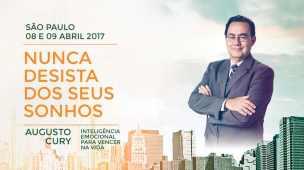 Augusto Cury Seminario Nunca Desista de Seus Sonhos SP