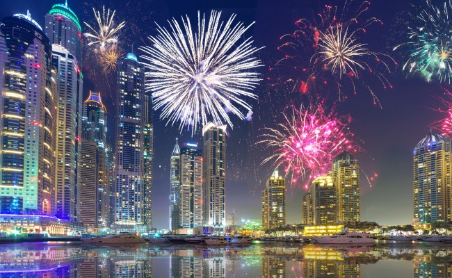 Dubai On New Year S Eve Best Places To Watch The