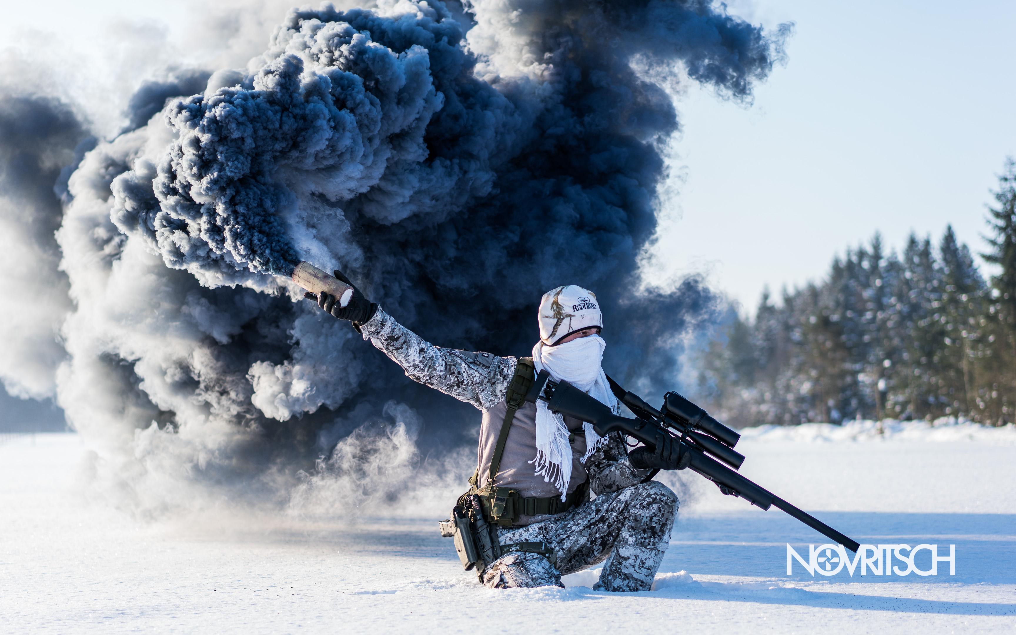 Winter Anime Girl Wallpaper Wallpapers Novritsch Airsoft Sniper