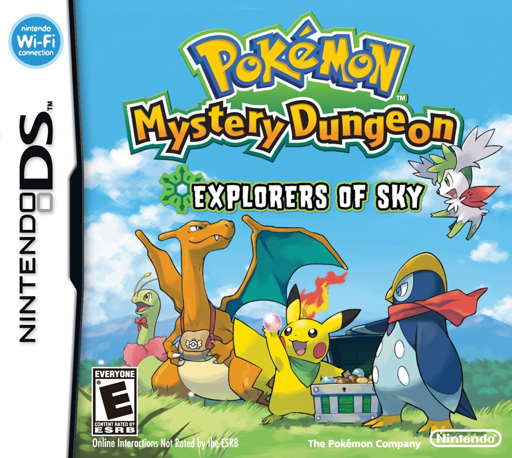 Pokemon Ds Pokemon Mystery Dungeon Explorers Of Sky Guide
