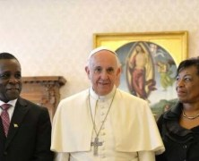PM Mitchell And Family At The Vatican
