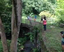 tWRF Visits Historic Bridge In St Mark