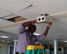 Airport Installs Infrared System
