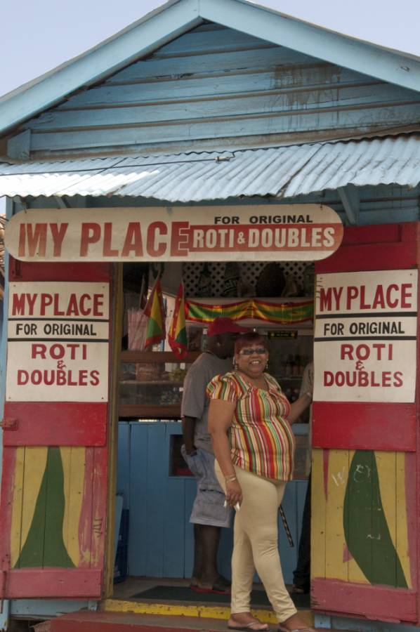 Stop for Roti & Doubles in Grenville Grenada – A Taste for Travel