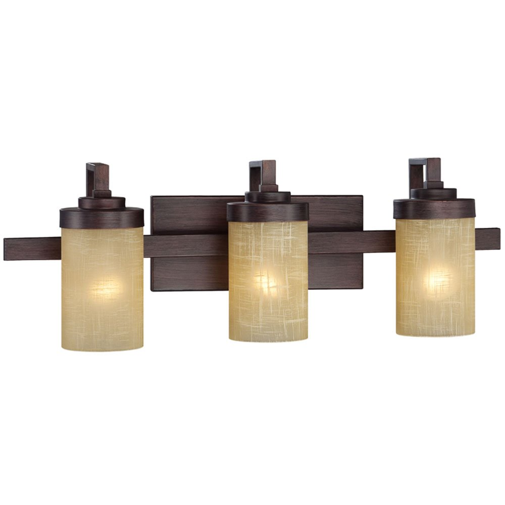 Designers Fountain Lighting Designers Fountain Castello 3 Light Bath Bar In Tuscana With Antique Linen
