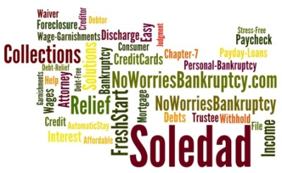 Soledad Bankruptcy Attorney: $100 to Start - CALL NOW & SAVE