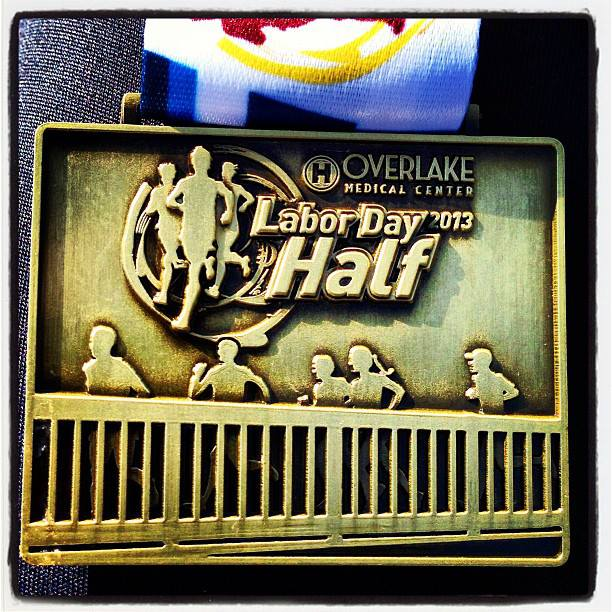 Labor Day Half Medal
