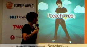 Teachmeo at Startup World
