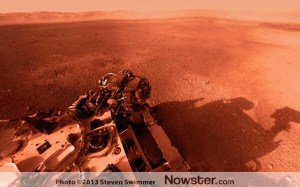 Curiosity Rover Mars view