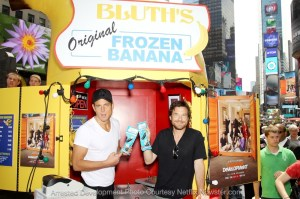 """Netflix """"Arrested Development"""" Bluth's Original Banana Stand New York City Day 4 Times Square"""