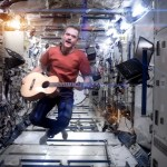 "Chris Hadfield performs Bowie's ""Space Oddity"" in Outer Space!"