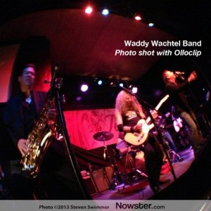"""Waddy Wachtel Band Performing """"When the Levee Breaks"""" Live at The Joint. Shot with Olloclip on iPhone 5."""