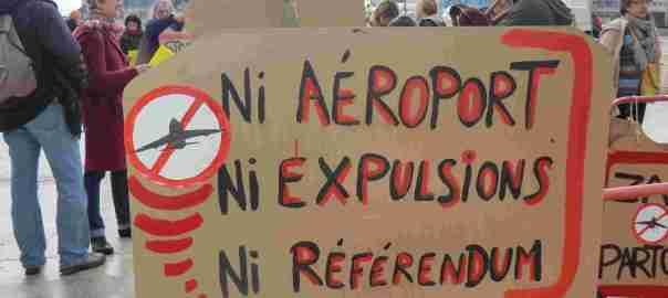 NDDL Blois Ni aéroport ni expulsions ni référendum