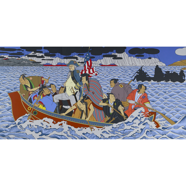 Shimomura Crossing the Delaware National Portrait Gallery