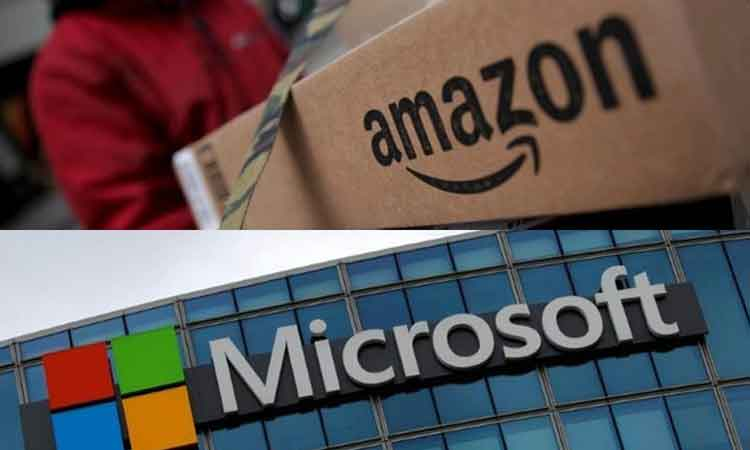 Microsoft, Amazon in race for $10bn Pentagon project - NP News24