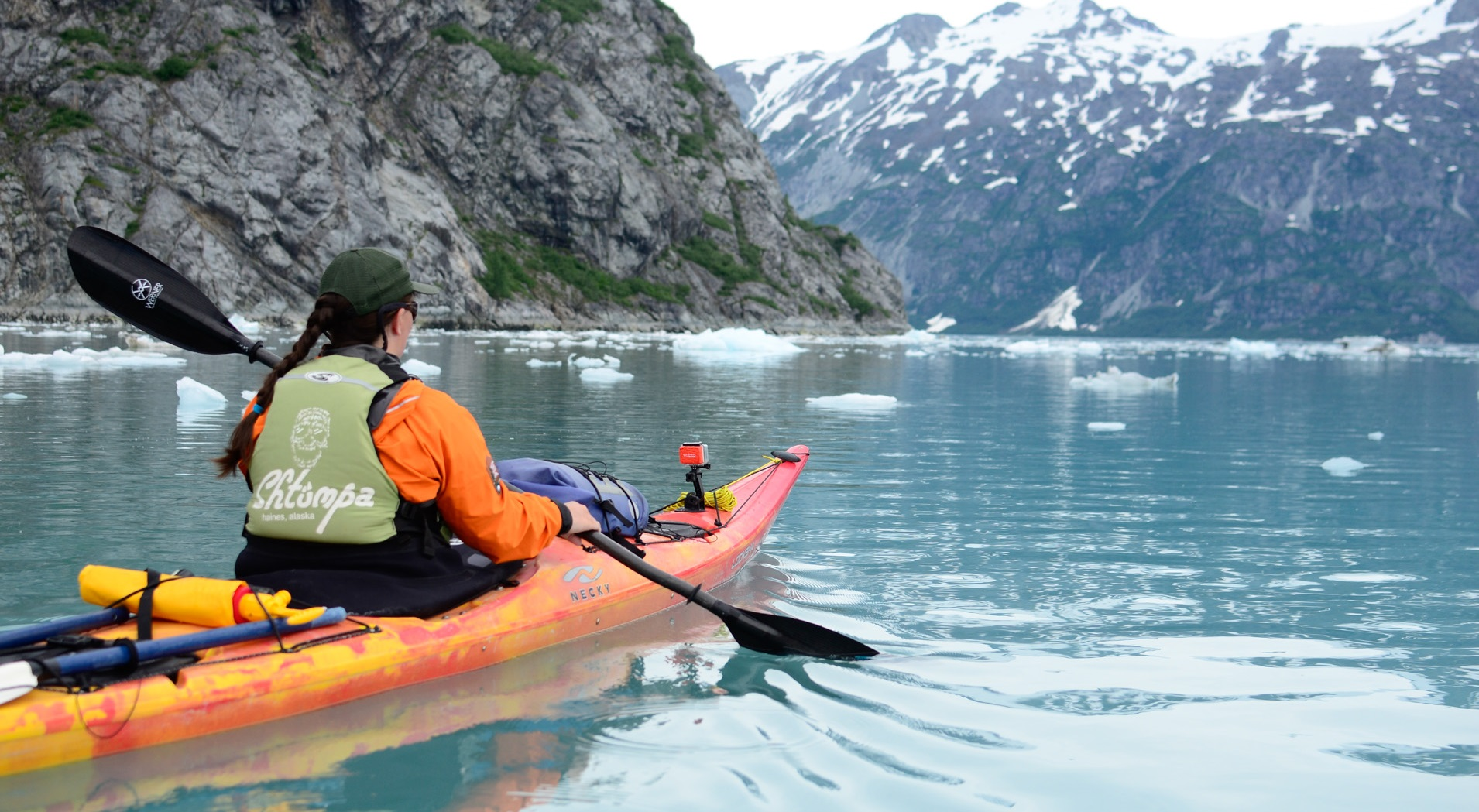 Kayak Kayaking Glacier Bay National Park Preserve U S National