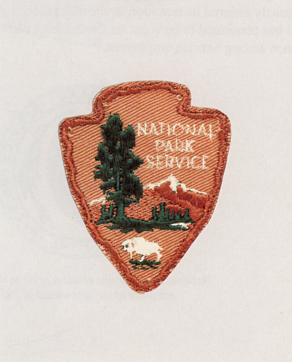 Red 1 Parking Arrowhead National Park Service Uniforms Badges And Insignia 1894