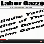 Eddie York murder victim of Trumka led union violence