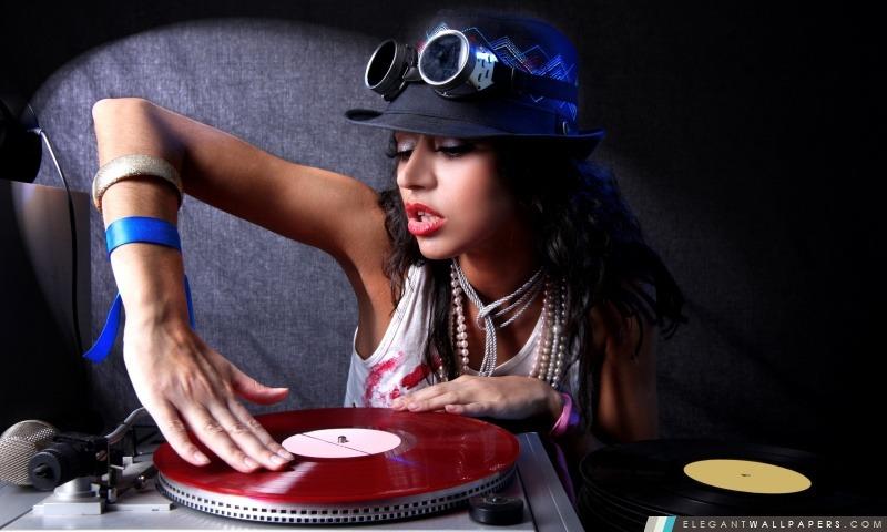 Dj Girl Hd Wallpapers Dj Sexy Girl Fond D 233 Cran Hd 224 T 233 L 233 Charger Elegant