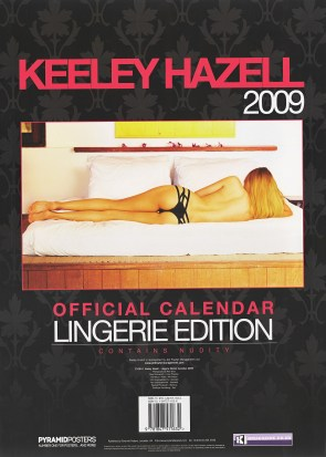 keeley hazel's new calendar