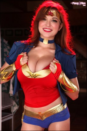 Tessa Fowler is Wonder Woman