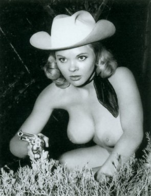 Classic Topless Cowgirl – Candy Barr