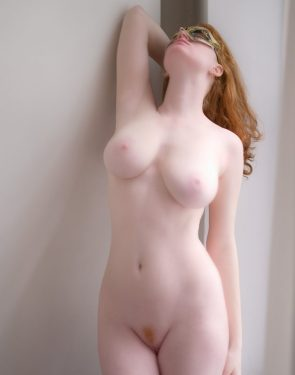 sexy pale red head