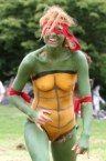 turtle body paint