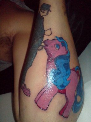 MLP Blowjob Tattoo