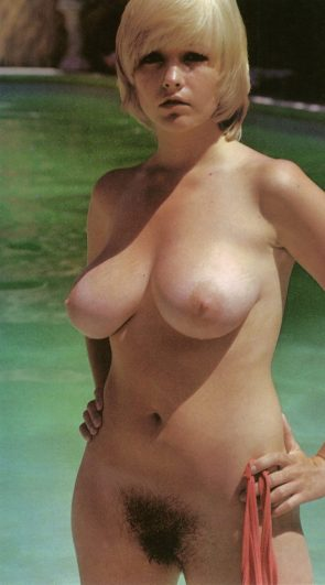 Nude by pool