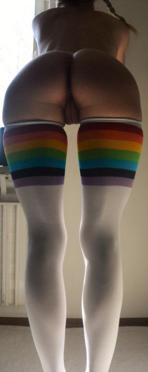 Rainbow Stockings