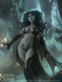 art of legend of the cryptids