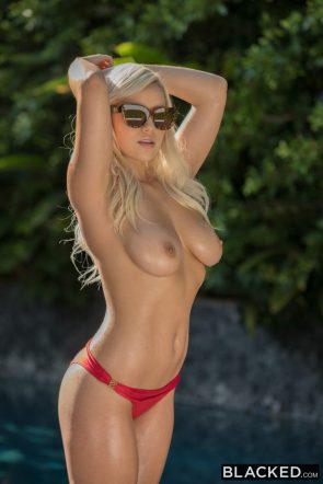 Kylie Page in big 'fuck me' glasses