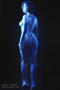 Jannet Vinogradova as Cortana