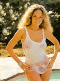 catherine bach's see through top
