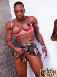 black shemale with pierced nipples