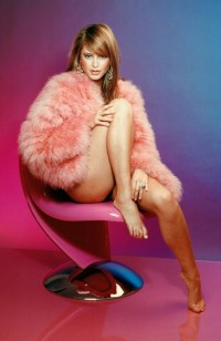 Holly Valance in pink
