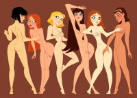Naked girls