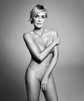 Sharon Stone at 57