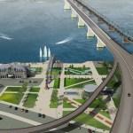 Федерация может выделить 20 млрд руб. начетвертый мост через Обь