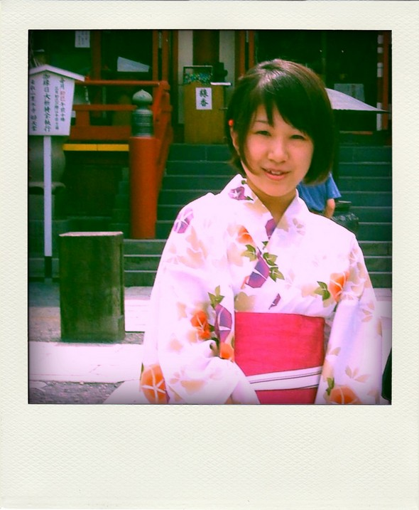 Tokyo Japon Japan Fashion Mode Yukata