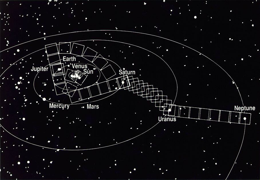 Exploring the Solar System with the Voyager Spacecraft\u0027s Cameras